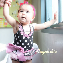 2015 New Arrival Polka Dot Baby Clothing Tutu Dress Baby Romper