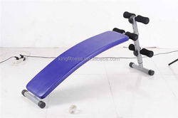 King Fitness home sit up exercise equipment and sit up bench for sale