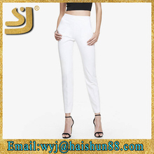 Elegant elastic ankle women pants , body shaper high waist pants