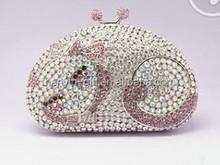 silver crystal diamante clutch bag 925 silver crystal bracelet silver crystal earrings jewellery