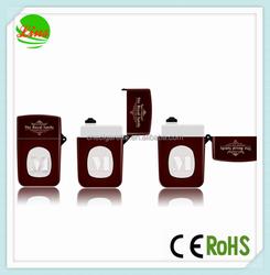 In stock! wholesale lighter shape ABS plastic ecig bottles named the royal family