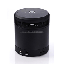 Creative Gesture Recognition Mini Cylinder Bluetooth Speaker with Hand-free Function Read SD card