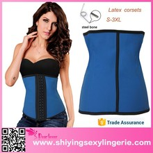 Accept Paypal Blue Steel Bone waist slimming corset www sexy photo.com 2015 Sexy Corset