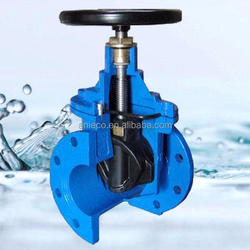 Ductile iron 3352 F4 resilient seated gate valve pn16 soft sealing pn16