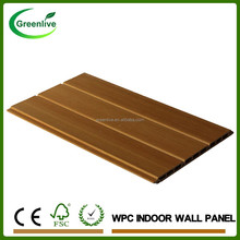 Wood Texture Waterproof Bathroom Decorative Wall Covering Panels