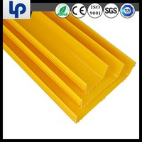 pvc plastic china supplier fiber channel with sgs rohs cable tested
