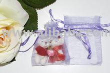 5 x 7cm Gift Bag (Organza) Purple