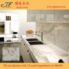 Mais Popular cozinha projeto Calacatta ouro de mármore da bancada