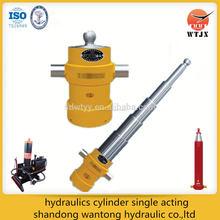 hidráulica del cilindro de simple efecto para el vehículo