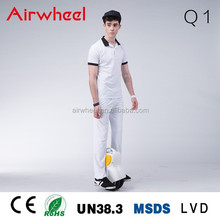 Airwheel electric bicycles with one wheel electric unicycles