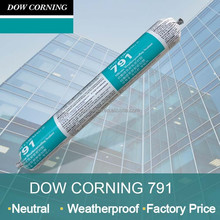 Weatherproof one component silicone rubber adhesive sealant of Dow Corning