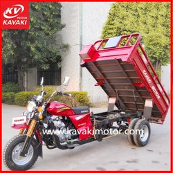 Gasoline Engine China Three Wheel Motorcycle/Adult Electric Tricycle/3 Wheel Electric Car Useing Delivery Box