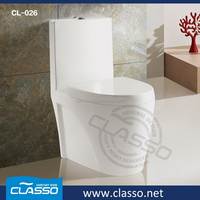 Sanitary Ware One piece/ two pieces siphonic/ washdown ceramic toilet