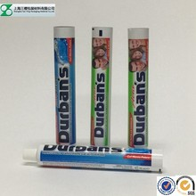 gold supplier tube packaging for toothpaste