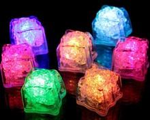 The LED fluorescent block Colorful flash ice Flash induction lanterns