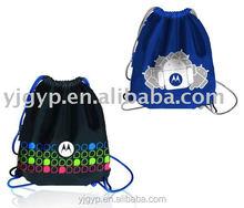 AZO FREE! Fashionable full color printing canvas drawstring bag