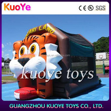 tiger bouncy jumping inflatable ,animal inflatable castle bouncers,inflatable games