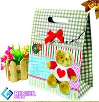 High end gift bag,custom mini paper bag,paper packaging supplier