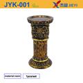 Angel titular de la vela de la boda decoración de todo de araña de plástico, acrílico candelabros con flores bowl