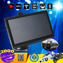 "Hot Sale 7"" 800x480 Android GPS Navigation System With Bluetooth WIFI Build-in 4G Brazil Map"