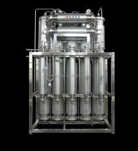 Multicolumn water distiller
