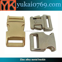 "Yukai 3/4"" metal curved buckle/metal dog collar buckle/metal spring buckle"