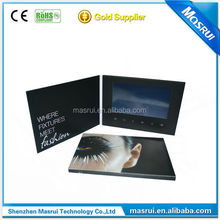 Brand Advertising Invitation LCD Video Greeting Card