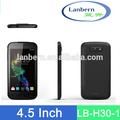 Recién llegado fábrica pantalla táctil Móvil 960 * 540 dual sim GPS WIFI Smartphone 1.3GHz MTK6582 androide ODM 4.2 LB-H30-1 OEM