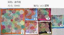 Modern factory direct hand print pashmina silk scarf shawls
