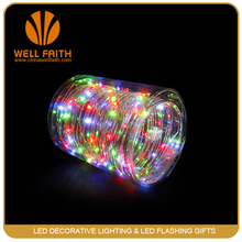 Popular Colorful Led Christmas Star String Lights coiling package