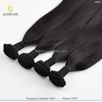 Cheap Price Large Stock Top Grade Shedding Free No Tangle Can Be Dyed shenzhen hair
