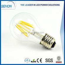 Modern House Design 6W A19 Led Bulb Light E27 Tungsten Filament Lamp