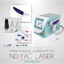 2015 freckle removal tattoo removal hair removal 1064 nm 532nm nd yag laser