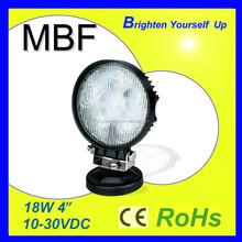 18W Round LED Work Light Car LED Lamp Truck LED Light
