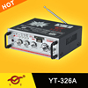 stereo audio mixer YT-326A support SD/USB/CD/DVD/VCD input HOT!!!Top sell