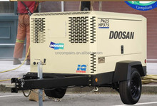 diesel Portable Air Compressors for mining / Ingersll Rand portable air compressor for drilling rig