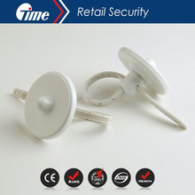 Ontime EAS Anti-Theft Wine Security Bottle Neck Hard Tags With 150mm Plastic Lanyard Cable Without Ball BT3004