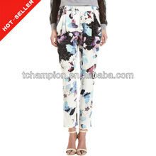 ( #tg493p) 2013indumento stampante palloncino sexy jeans floreale