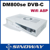 SIM A8p Dm 800se-c DVB 800HD Se WiFi Set Top Box DM800SE-C DM800SE WIFI For Cable TV