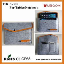 For ipad Multi-purpose Wool Felt pad tablet Sleeve bag briefcase Case For ipad mini 2 3 4