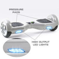 2015 promotion price Fashion led light self balancing scooter 2 wheels electric balance scooter self balancing