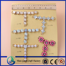 ashion with jewelry decorate flat shoes,rhinestone crystal buckle clip sandals chain accessory,flip flop