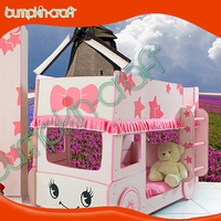 Liitle Star Kitty MDF wooden double bed designs children bunk bed