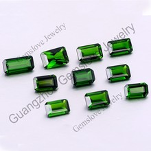Russia Origin Chrome Diopside Cheap Emerald Green Gemstones Loose Natural Chrome Diopside