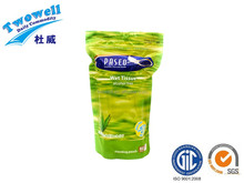 aloe extract indisfecting wet tissue refill package/standing pouch