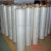 High quality transparent lldpe pallet stretch plastic film