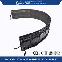 Stage background P9.375 flexible led video display big screen oled panel