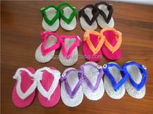 Wholesale import crochet baby barefoot sandal