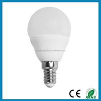 R-YLG-G45A China manufacturer Housing E14 LED bulb light G45 5W Aluminium Plastic LED bulb light , CE-LVD,EMC, RoHS, TUV-GS
