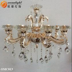 Lustres de cristal lamp cristal rustical chandelier lights OMC013W